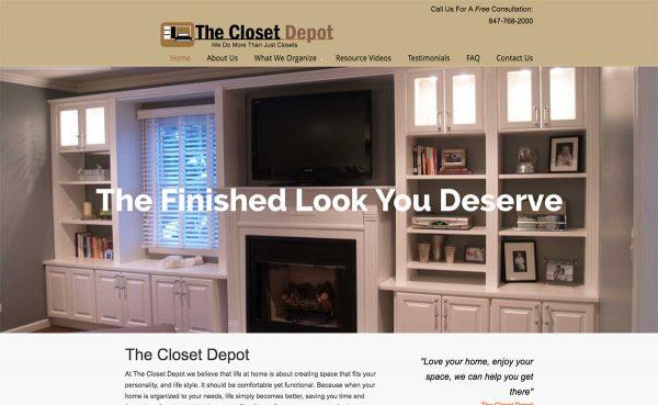 THE CLOSET DEPOT